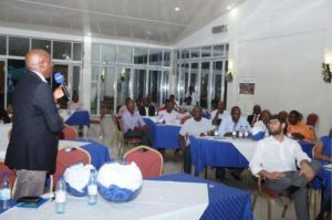 Alcuni partecipanti presenti alla giornata di presentazione finale del progetto.